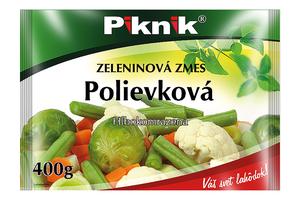 POLIEVKOVÁ ZELENINOVÁ ZMES, 400 g