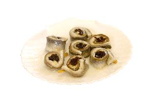 Sleďové očká v oleji so slivkou, 1 kg