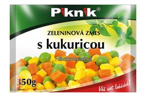 ZELENINOVÁ ZMES S KUKURICOU, 350 g