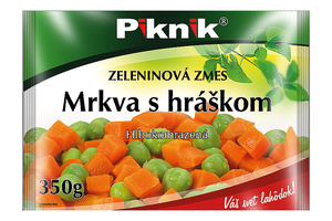 MRKVA S HRÁŠKOM, 350 g