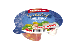 PARÍŽSKY ŠALÁT + FEFERÓN. ŠALÁT, 150 g