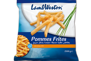 LAMB WESTON HRANOLKY POMMES FRITES (REGULAR) 9/9, 2,5 kg