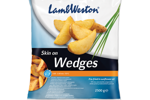 LAMB WESTON WEDGES MESIAČIKY, 2,5 kg