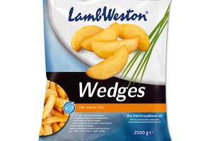LAMB WESTON CHEFS WEDGES MESIAČIKY BEZ ŠUPKY, 2,5kg