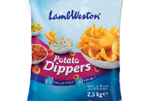 LAMB WESTON POTATO DIPPERS - RÚRKY, 2,5 kg
