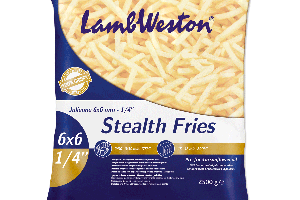 LAMB WESTON HRANOLKY STEALTH FRIES 6/6, 2,5 kg