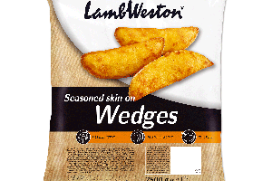 LAMB WESTON WEDGES MESIAČIKY KORENENÉ, 2,5 kg