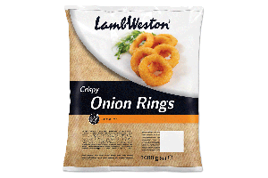 LAMB WESTON ONION RINGS (CIBUĽOVÉ KRÚŽKY ), 1 kg