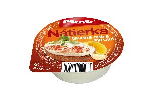 Nátierka tavená ostrá syrová PIKNIK ,100g