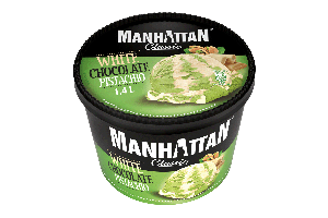 MANHATTAN White Chocolate & Pistachio 1.4L